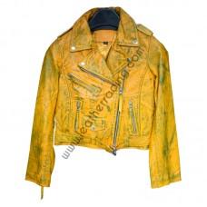 Fashion Leather Jacket Women